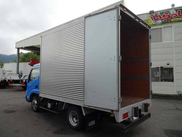 日野 デュトロ アルミバン 2t積 背高 全低床 LPG燃料車 新免許対応