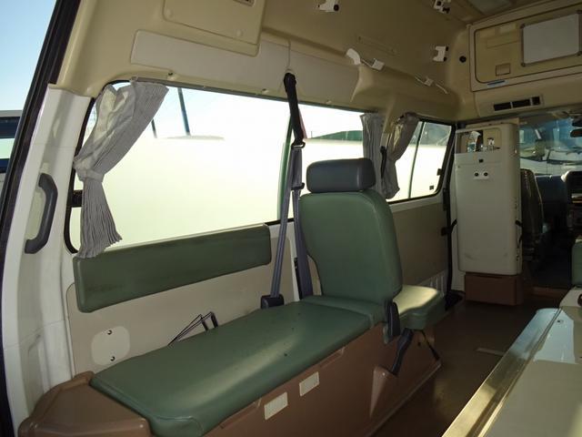 トヨタ グランビア 4WD 4WS 救急車 ハイメディック 7人乗り