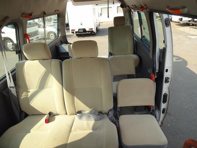 日産 キャラバン 福祉車両 車いす移動車 リフト付 10人乗 ガソリン車