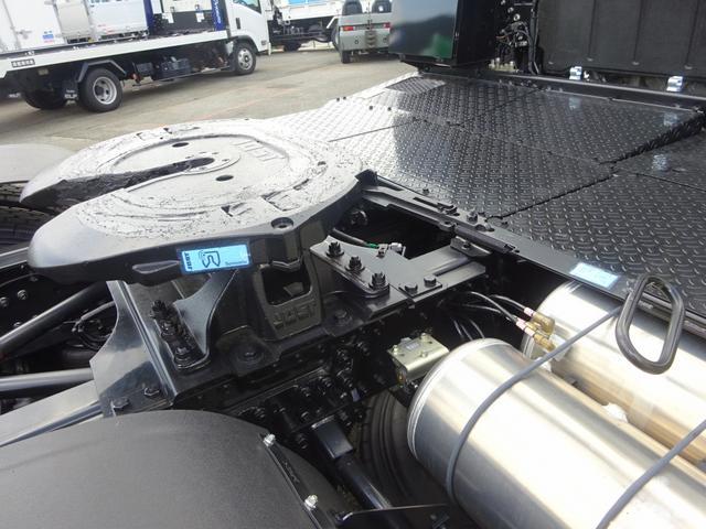 三菱ふそう スーパーグレート トラクタ トレーラーヘッド シングル 第5輪荷重11.5トン