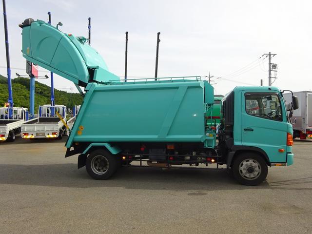 日野 ヒノレンジャー 増トン プレス式パッカー 4.2トン積み 10.2m3