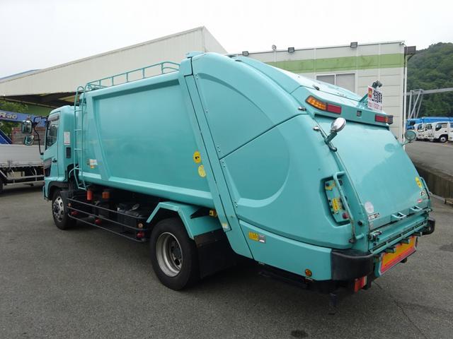日野 ヒノレンジャー 増トン車 プレス式パッカー 10.2m3 4.1トン積み