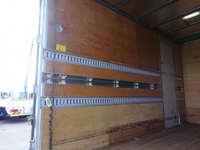 日野 デュトロ パワーゲート付アルミバン 背高 内寸高さ2.43m 左ドア