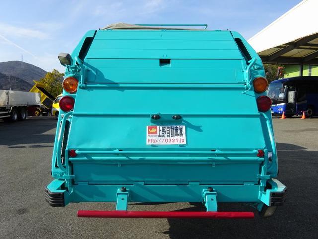 日野 デュトロ 塵芥車 パッカー車 プレス式 新明和 5.3m3 2.4t積