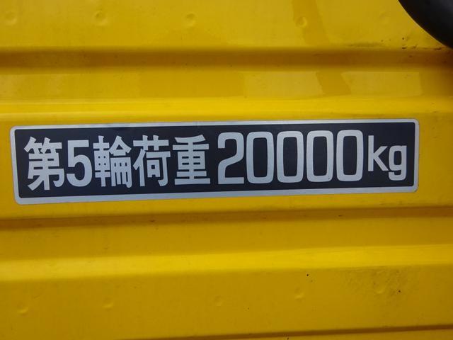 ボルボ ボルボ FH 重量トラクタ 個別緩和 総重量60.9t 第5輪20t