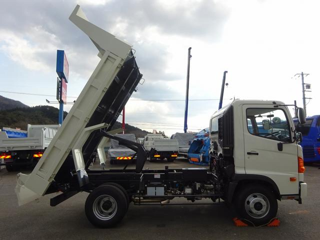 日野 ヒノレンジャー 4トン ダンプ 極東 標準幅 3.8t積み 210馬力