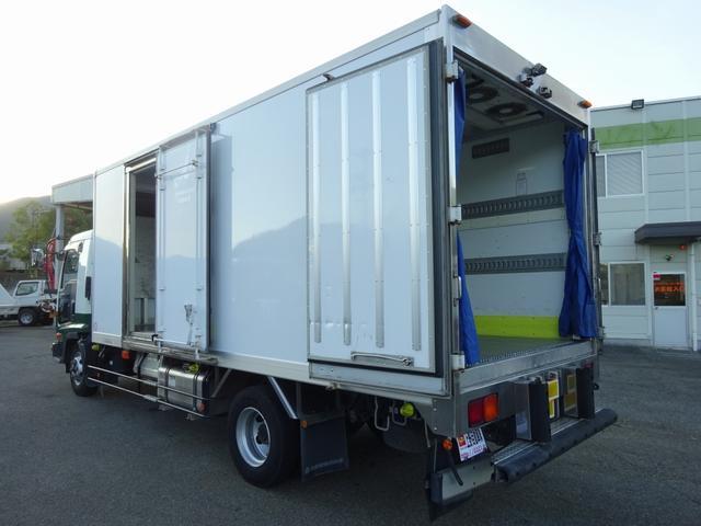 冷凍車 低温 床キーストン 標準幅 ベッドレス 3.1t積み(2枚目)