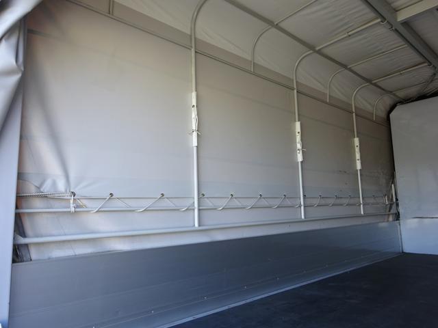 幌ウイング 手動式幌 ワイド ロング 2t積み 全低床(8枚目)