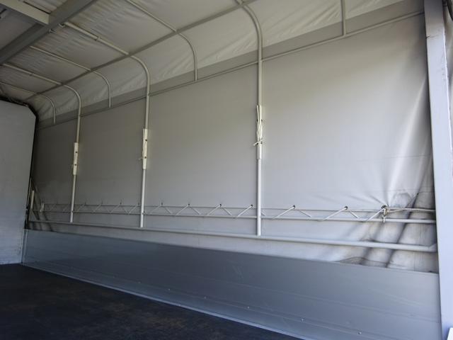 幌ウイング 手動式幌 ワイド ロング 2t積み 全低床(9枚目)