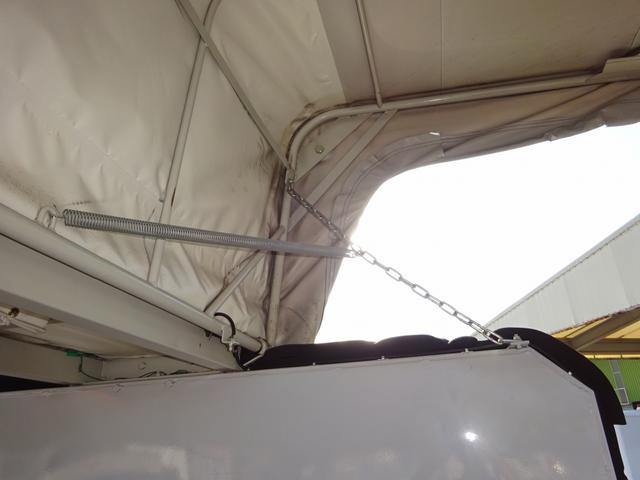 幌ウイング 手動式幌 ワイド ロング 2t積み 全低床(14枚目)
