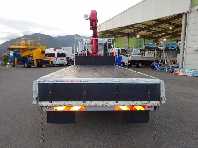 三菱ふそう ファイター 5段ユニッククレーン ラジコン デジタル荷重計 2.5t積み