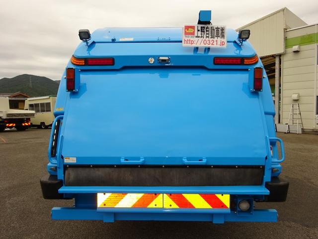 日野 レンジャー 4WD プレス式パッカー 増トン 10.2m3 新明和工業