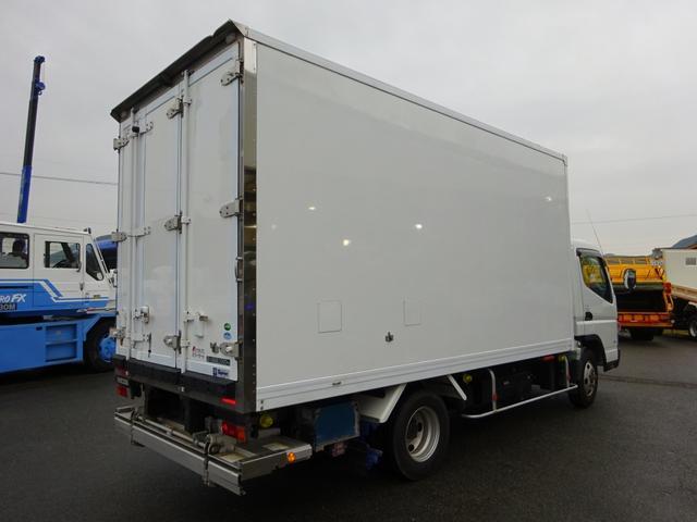 2パワーゲート付冷凍車 低温 ワイド ロング 2t積み(4枚目)