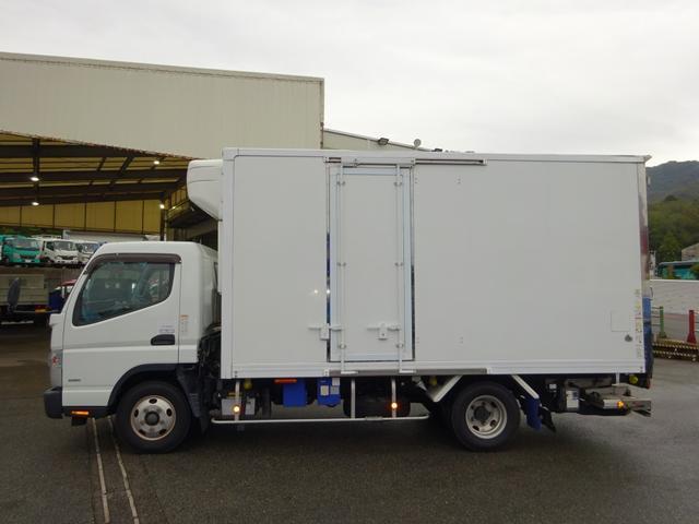 2パワーゲート付冷凍車 低温 ワイド ロング 2t積み(5枚目)