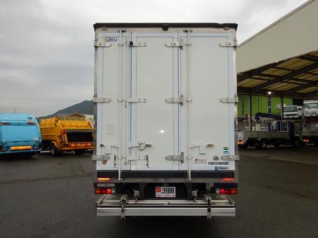 2パワーゲート付冷凍車 低温 ワイド ロング 2t積み(6枚目)