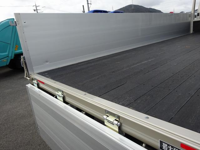 三菱ふそう ファイター 増トン アルミブロック平ボディ 8.5t積み カスタム