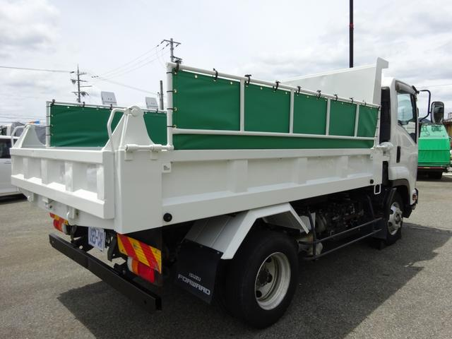 4トンダンプ 新明和 3.7t積み 標準幅 電動コボレーン(4枚目)