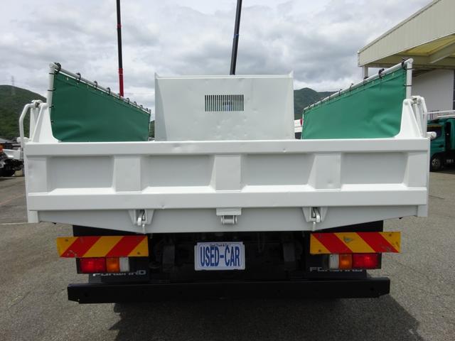 4トンダンプ 新明和 3.7t積み 標準幅 電動コボレーン(6枚目)