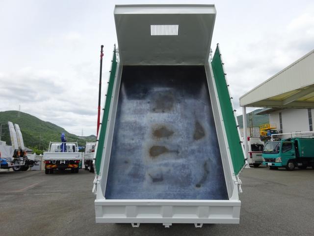 4トンダンプ 新明和 3.7t積み 標準幅 電動コボレーン(7枚目)