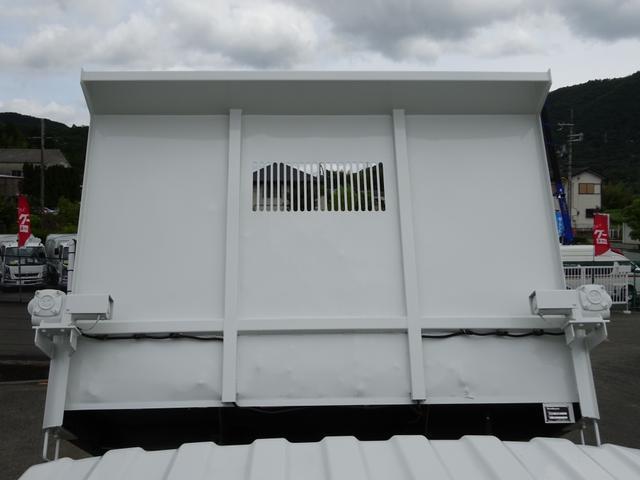 4トンダンプ 新明和 3.7t積み 標準幅 電動コボレーン(14枚目)