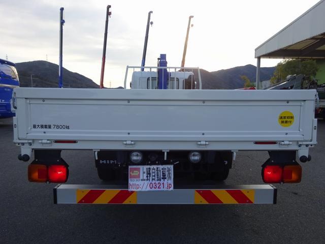 増トン クレーン付 4段 ワイド幅 ベッド付 7.8t積み(6枚目)