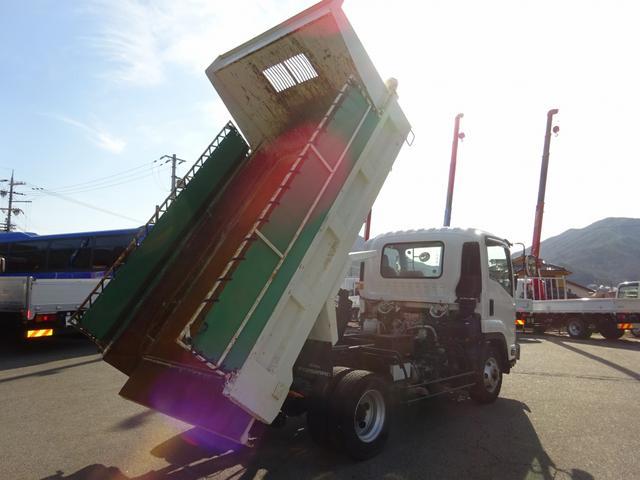 Lゲートダンプ 極東開発 標準幅 ベッドレス 3.65t積み(4枚目)