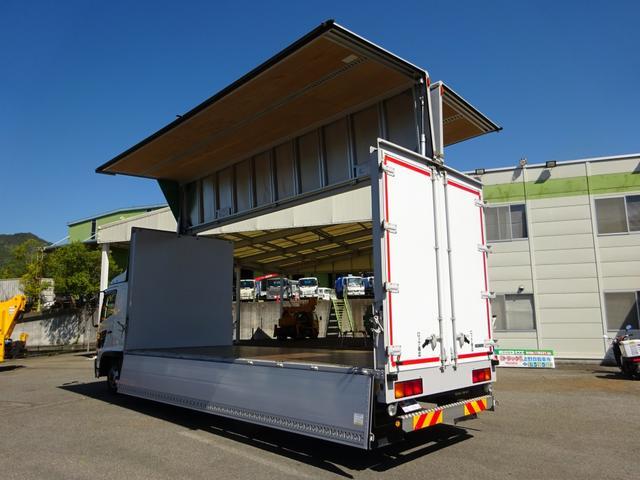 アルミウイング ワイド幅 ベッド付 3t積み 6.2mボディ(2枚目)