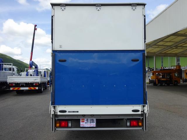 移動販売車 展示車 2t パワーゲート付バン 標準幅 ロング(6枚目)