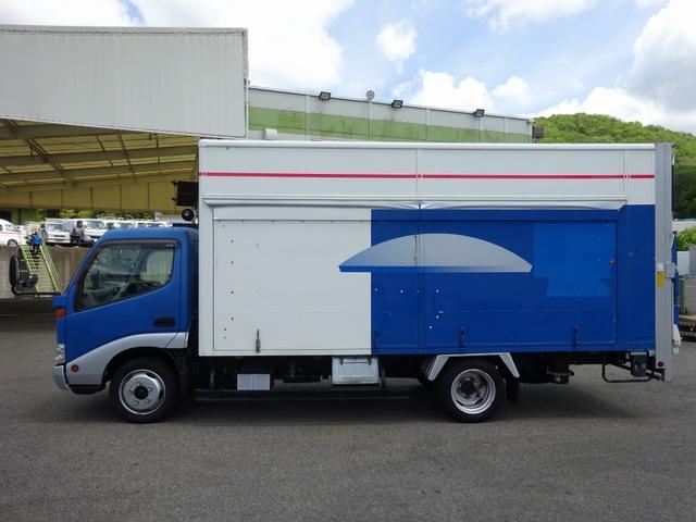 移動販売車 展示車 2t パワーゲート付バン 標準幅 ロング(11枚目)