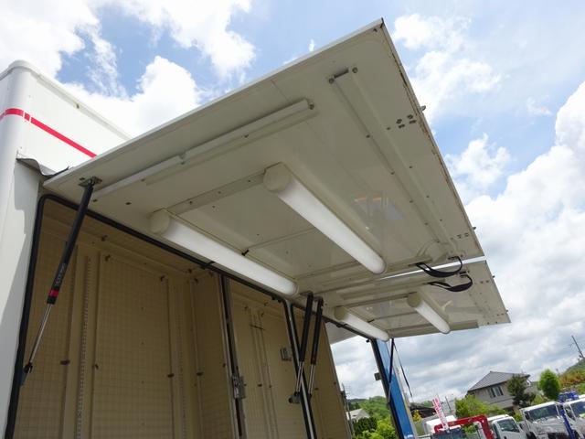 移動販売車 展示車 2t パワーゲート付バン 標準幅 ロング(19枚目)