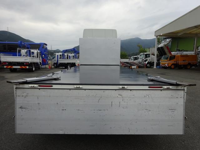 アルミブロック平ボディ 標準幅 ベッド付 3.5t積(7枚目)