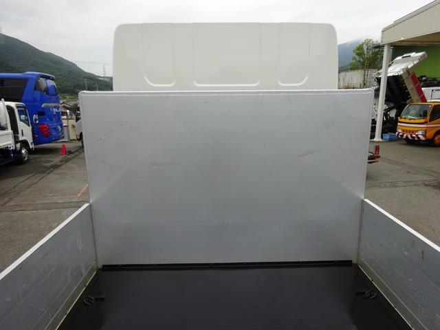 アルミブロック平ボディ 標準幅 ベッド付 3.5t積(8枚目)