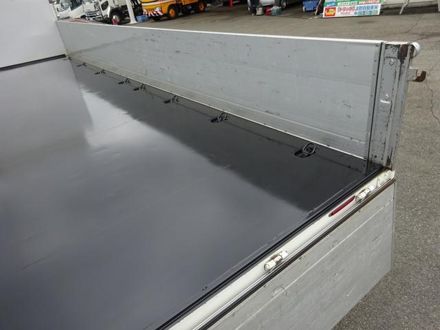 アルミブロック平ボディ 標準幅 ベッド付 3.5t積(11枚目)