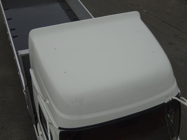 アルミブロック平ボディ 標準幅 ベッド付 3.5t積(20枚目)
