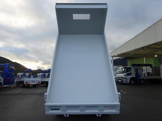 4トン 土砂ダンプ 新明和工業 標準幅 3.75t積み(7枚目)