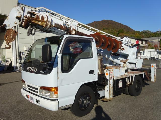 穴掘建柱車 アイチコーポレーション D502 標準幅(3枚目)
