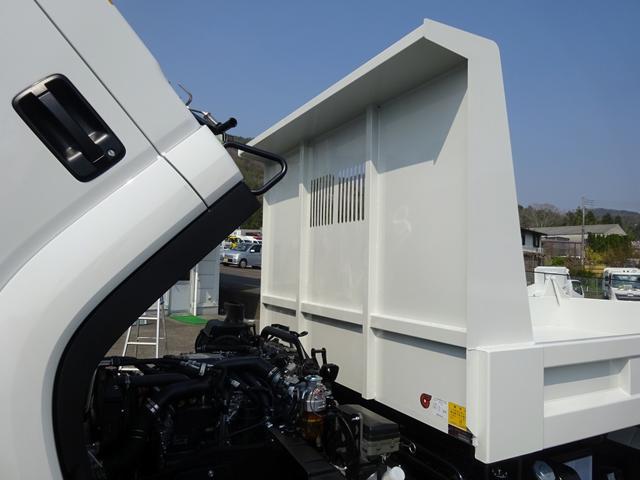 土砂ダンプ 極東開発工業 標準幅 ベッドレス 3.7t積み(22枚目)