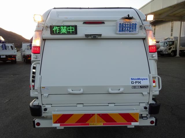 ESスタート…坂道発進補助装置 DPR…排出ガス浄化装置(アドブルー不要) アイドルストップシステム日野エコラン…省燃費モード・出力制御を行います