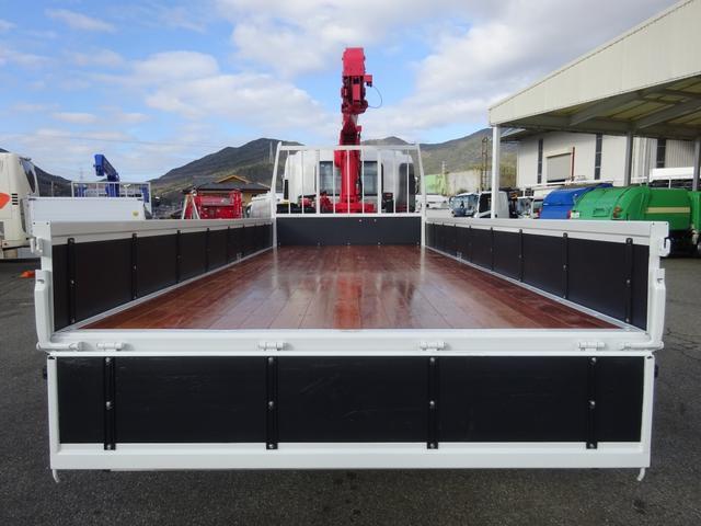4段クレーン付 ラジコン デジタル荷重計 古河ユニック URU374RKK 標準 ベッド付 2.7トン積み(7枚目)