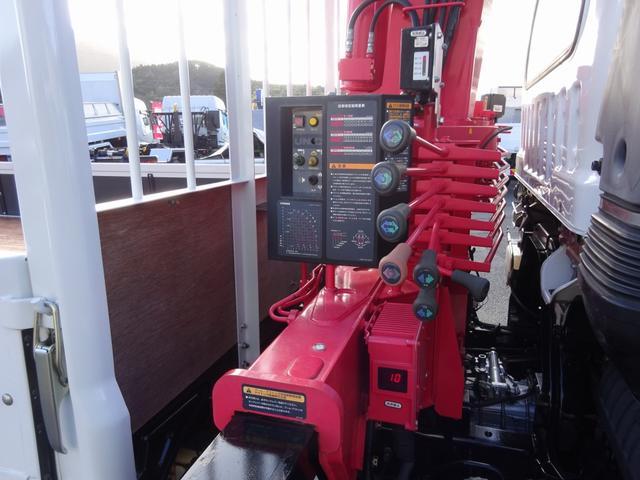 4段クレーン付 ラジコン デジタル荷重計 古河ユニック URU374RKK 標準 ベッド付 2.7トン積み(21枚目)