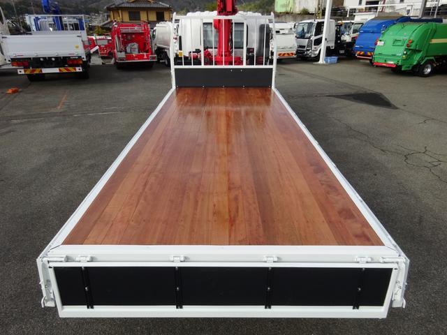 4段クレーン付 ラジコン デジタル荷重計 古河ユニック URU374RKK 標準 ベッド付 2.7トン積み(30枚目)