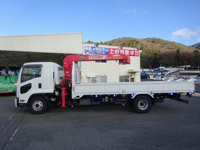 4段クレーン付 ラジコン デジタル荷重計 古河ユニック URU374RKK 標準 ベッド付 2.7トン積み(34枚目)