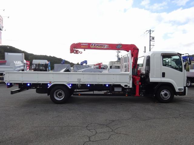 4段クレーン付 ラジコン デジタル荷重計 古河ユニック URU374RKK 標準 ベッド付 2.7トン積み(35枚目)