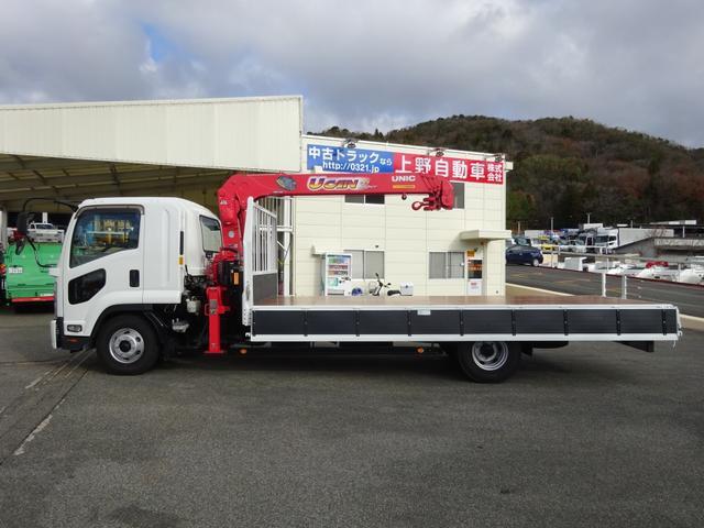 4段クレーン付 ラジコン デジタル荷重計 古河ユニック URU374RKK 標準 ベッド付 2.7トン積み(36枚目)