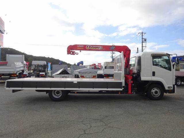 4段クレーン付 ラジコン デジタル荷重計 古河ユニック URU374RKK 標準 ベッド付 2.7トン積み(37枚目)