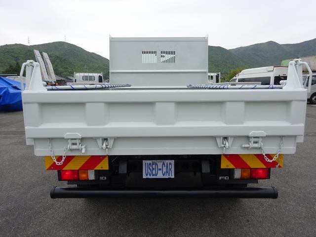 土砂ダンプ 電動コボレーン 新明和工業 角底一方開 標準 ベッドレス 3.5トン積み(6枚目)