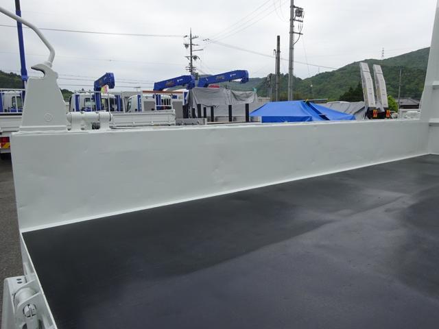土砂ダンプ 電動コボレーン 新明和工業 角底一方開 標準 ベッドレス 3.5トン積み(13枚目)