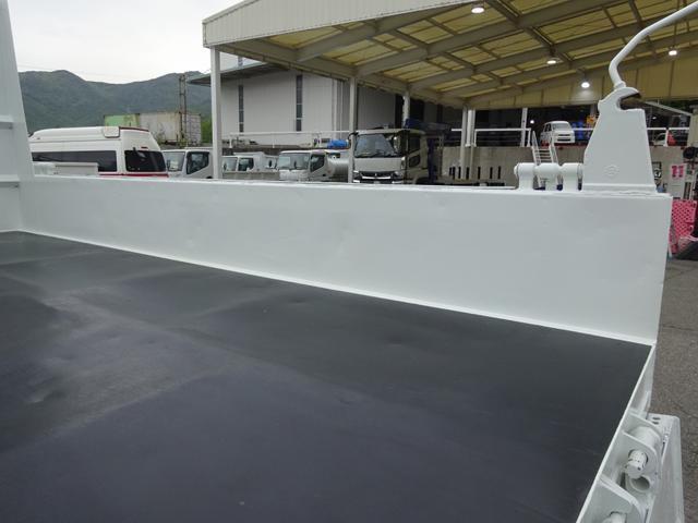 土砂ダンプ 電動コボレーン 新明和工業 角底一方開 標準 ベッドレス 3.5トン積み(14枚目)