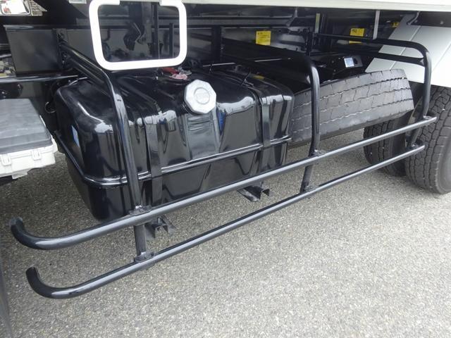 土砂ダンプ 電動コボレーン 新明和工業 角底一方開 標準 ベッドレス 3.5トン積み(25枚目)