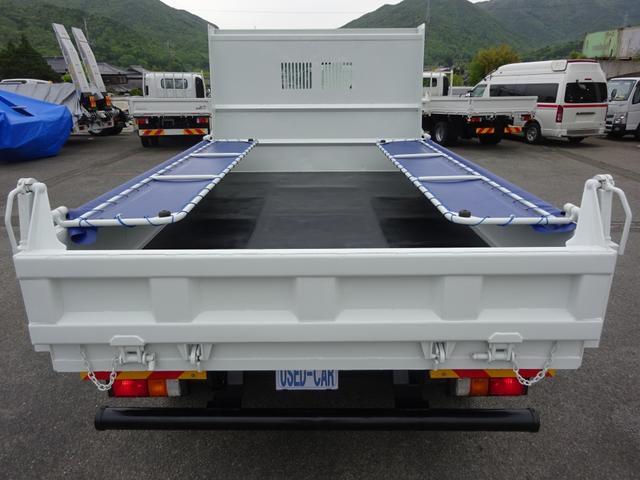 土砂ダンプ 電動コボレーン 新明和工業 角底一方開 標準 ベッドレス 3.5トン積み(26枚目)